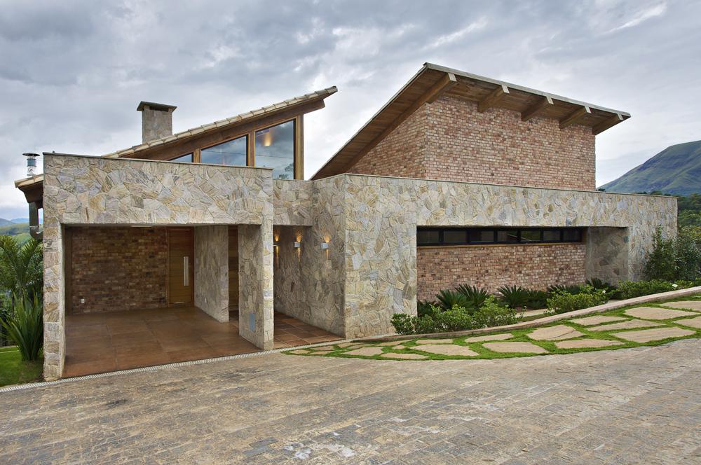 Casa Da Montanha Em Nova Lima Mg Por David Guerra