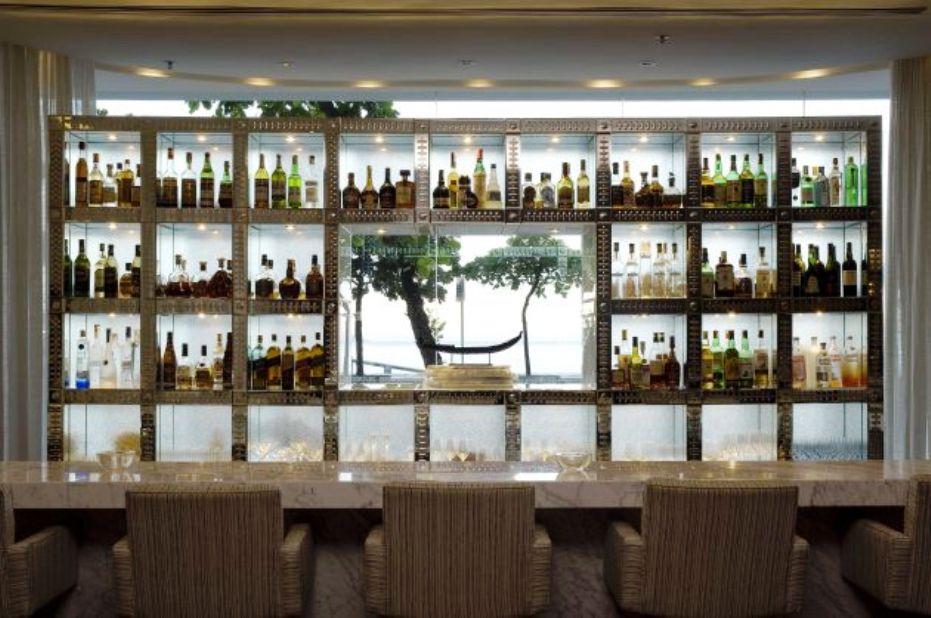 Hotel fasano rio de janeiro por philippe starck for Bar back plans