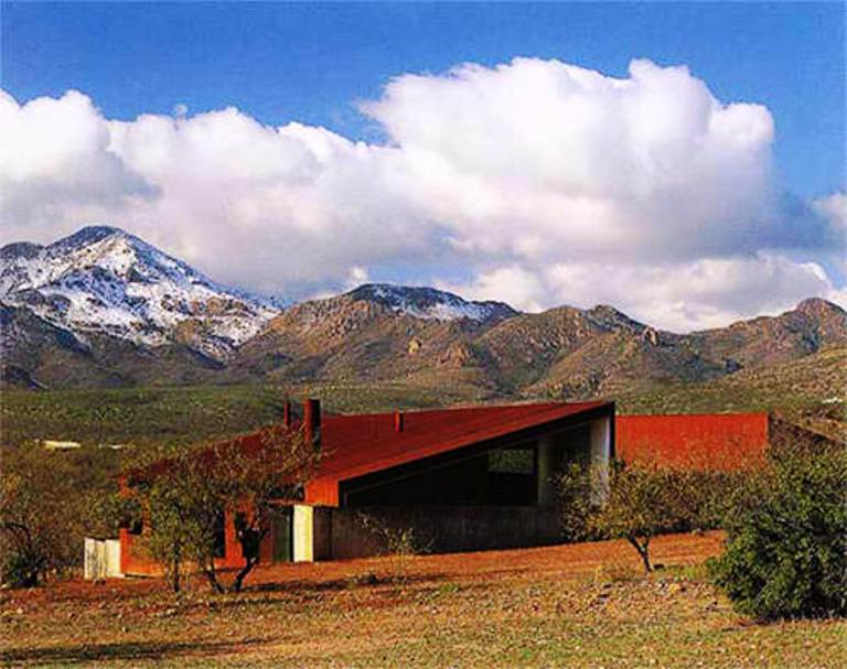 Casa No Deserto Do Arizona Por Rick Joy