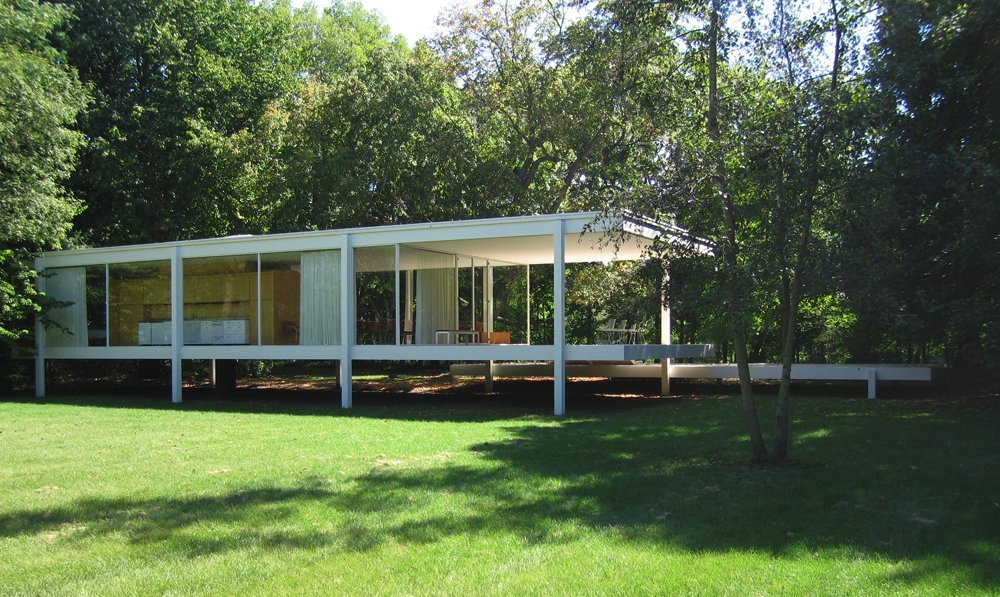 Farnsworth House Em Illinois Por Mies Van Der Rohe