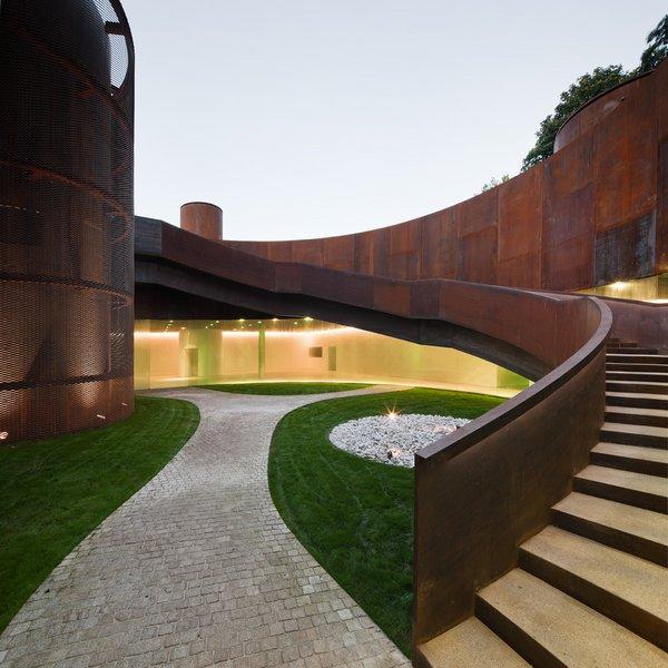 Museo interactivo de la historia em lugo espanha por - Arquitectos lugo ...