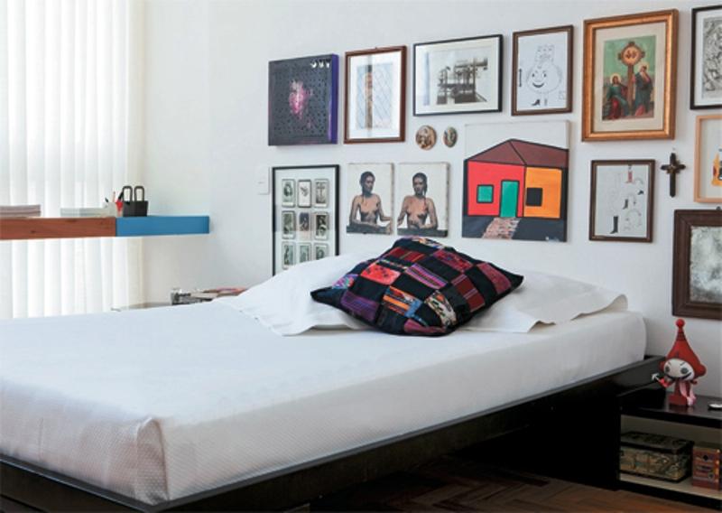 decoracao kitnet casal:Quando chegou do antigo apartamento de Paulo André, companheiro de