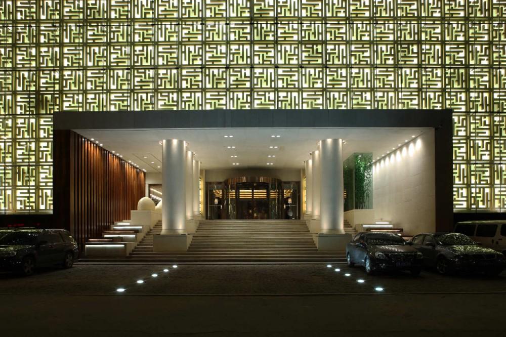 Qing shui wan spa hotel em shenyang china por nota design for Design hotel spa