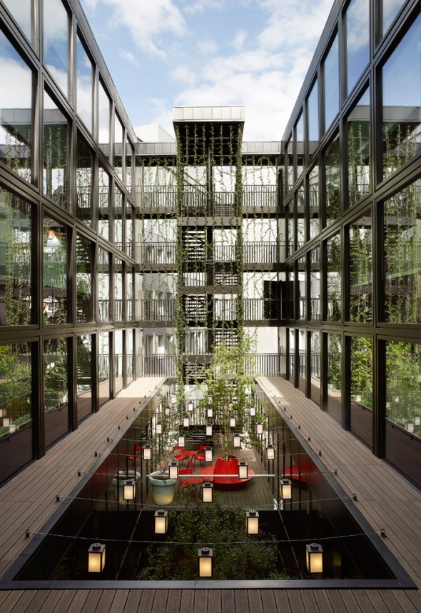 Citizenm london bankside dica de londres design for Architecture moderne londres